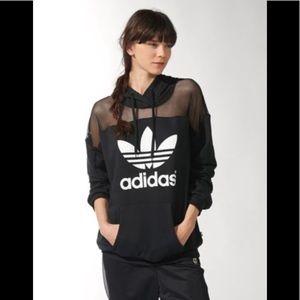 Adidas Rita Ora Mesh Hoodie